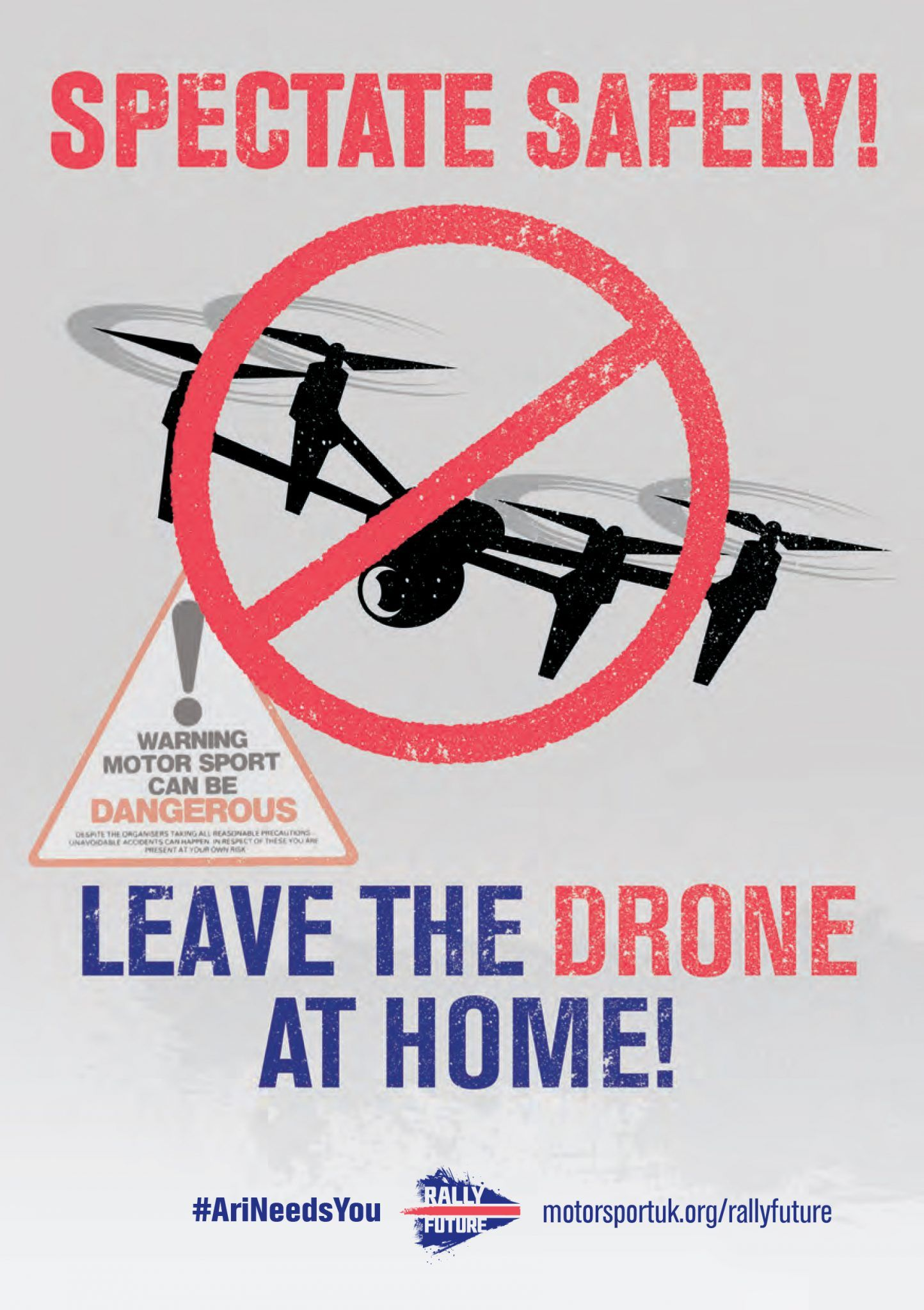Leave The Drone At Home Poster